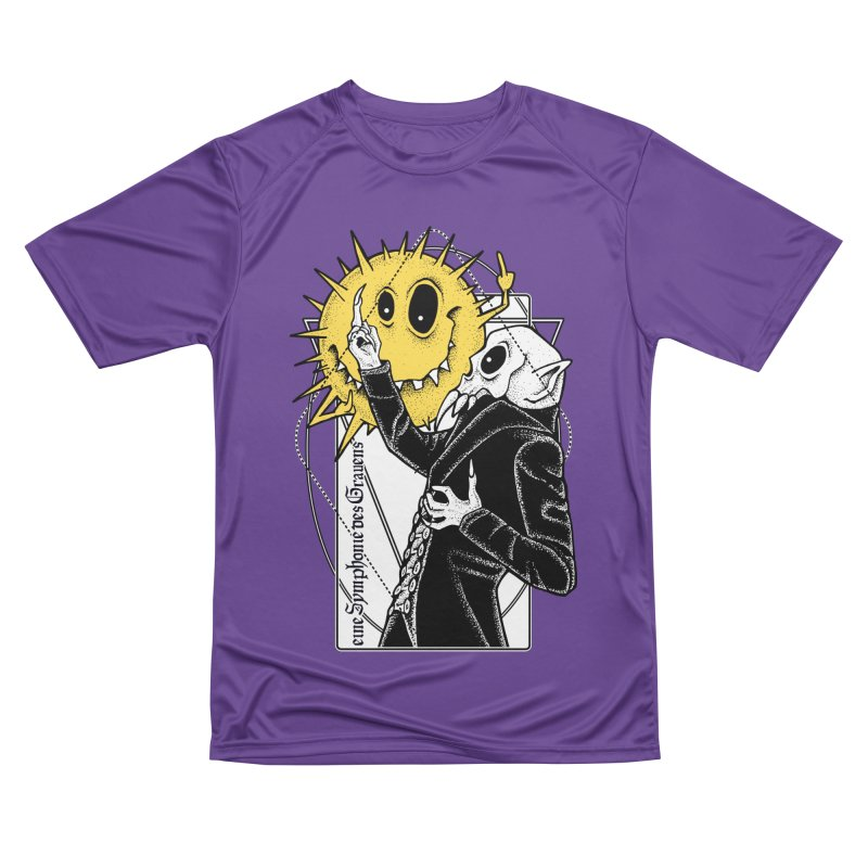 The Vampire and the Sun Women's Performance Unisex T-Shirt by von Kowen's Shop