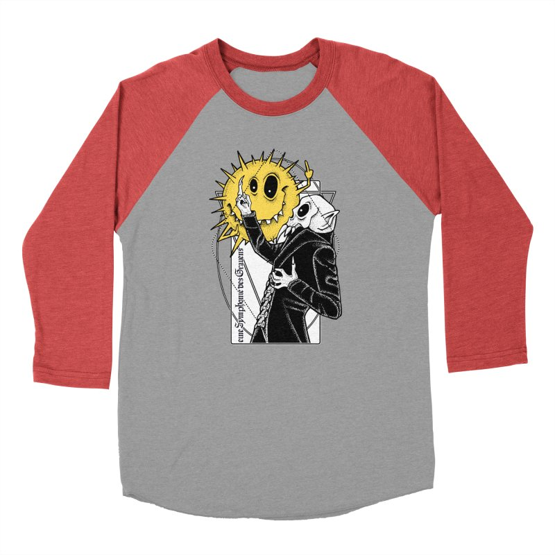 The Vampire and the Sun Women's Baseball Triblend Longsleeve T-Shirt by von Kowen's Shop