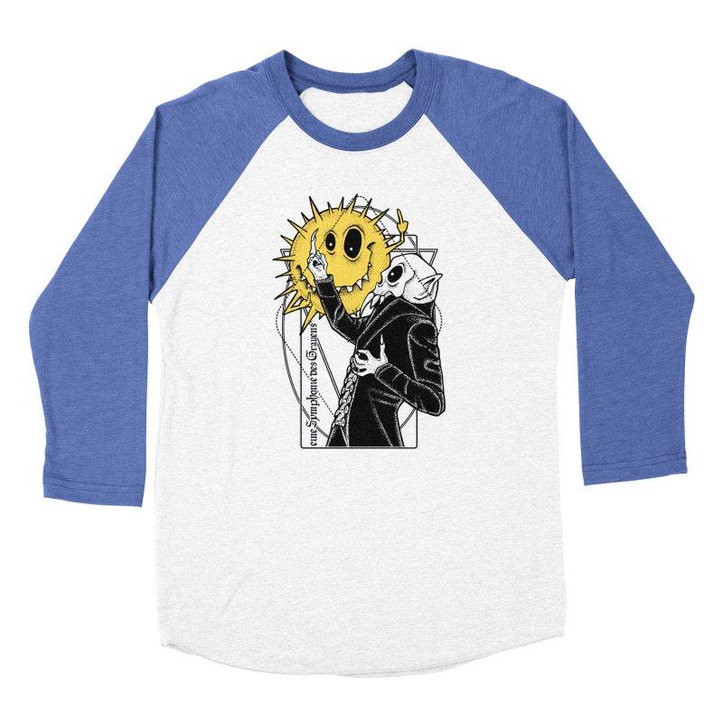 The Vampire and the Sun Men's Baseball Triblend Longsleeve T-Shirt by von Kowen's Shop