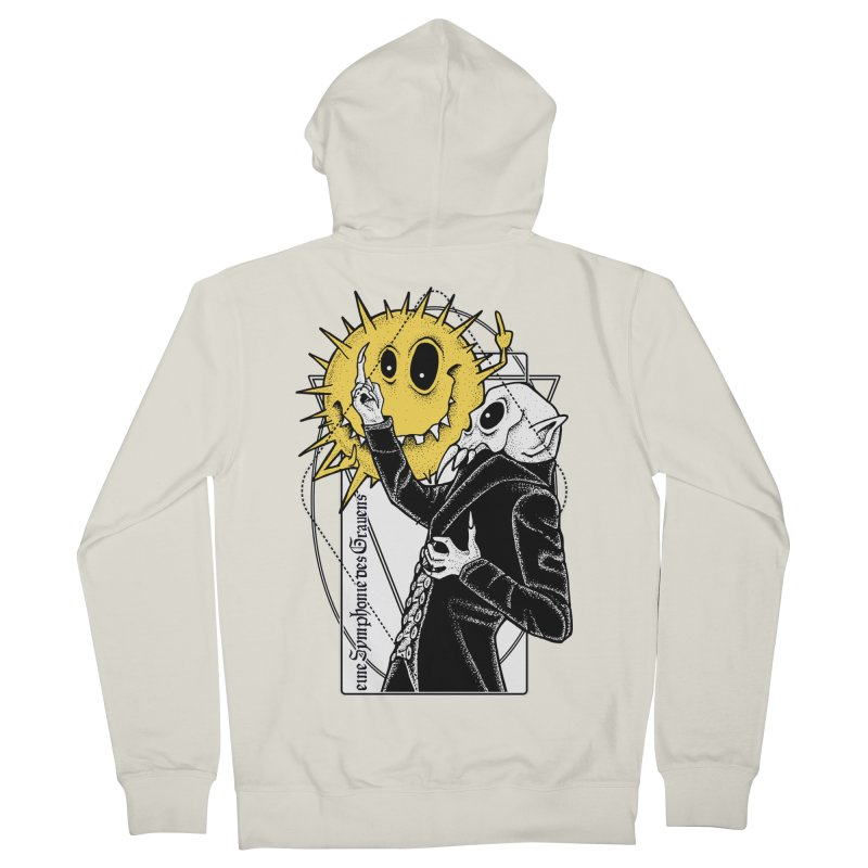 The Vampire and the Sun Women's French Terry Zip-Up Hoody by von Kowen's Shop