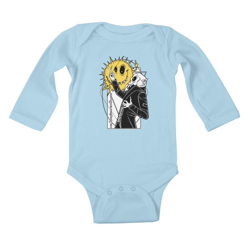 The Vampire and the Sun Kids Baby Longsleeve Bodysuit by von Kowen's Shop
