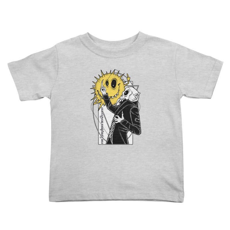 The Vampire and the Sun Kids Toddler T-Shirt by von Kowen's Shop