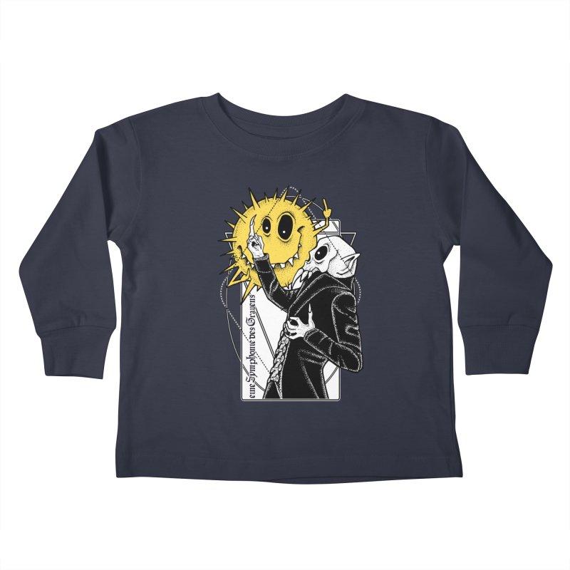 The Vampire and the Sun Kids Toddler Longsleeve T-Shirt by von Kowen's Shop