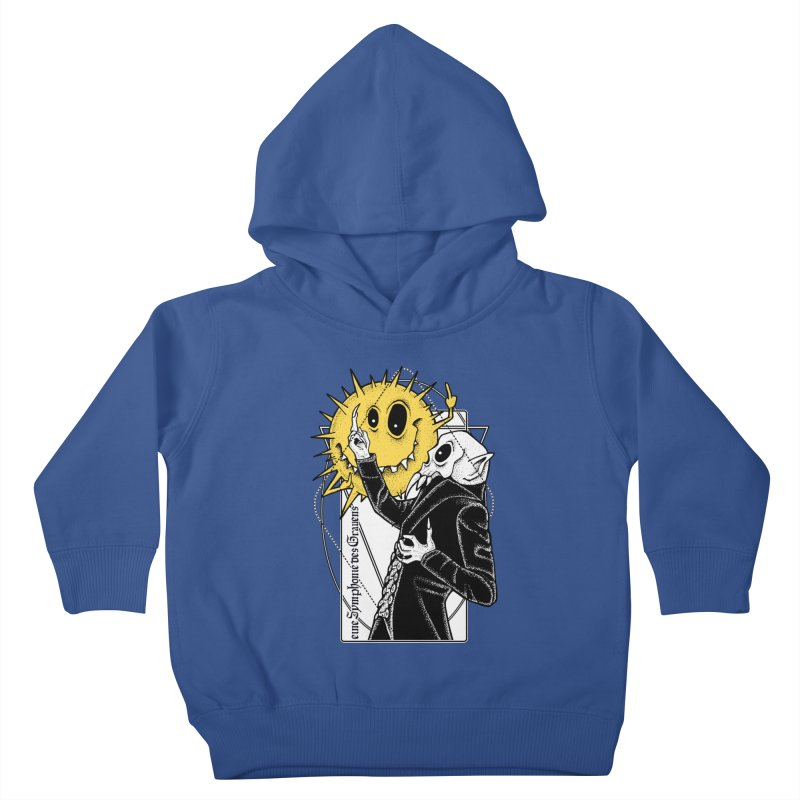 The Vampire and the Sun Kids Toddler Pullover Hoody by von Kowen's Shop