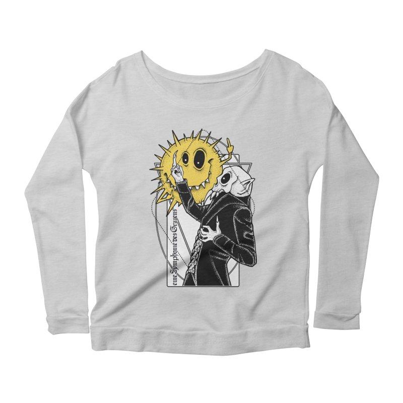 The Vampire and the Sun Women's Scoop Neck Longsleeve T-Shirt by von Kowen's Shop