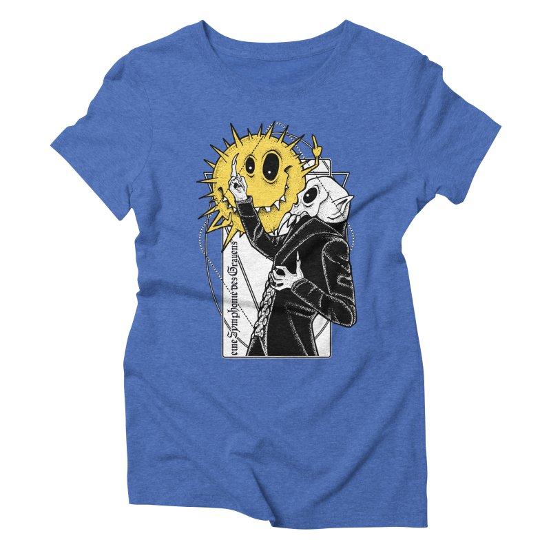 The Vampire and the Sun Women's Triblend T-Shirt by von Kowen's Shop