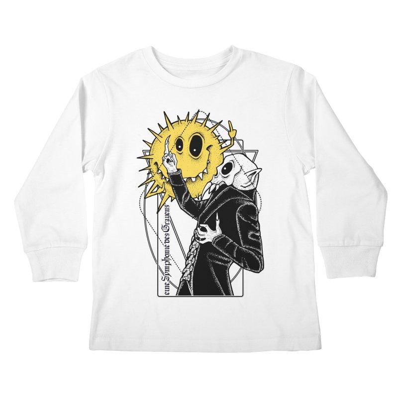 The Vampire and the Sun Kids Longsleeve T-Shirt by von Kowen's Shop
