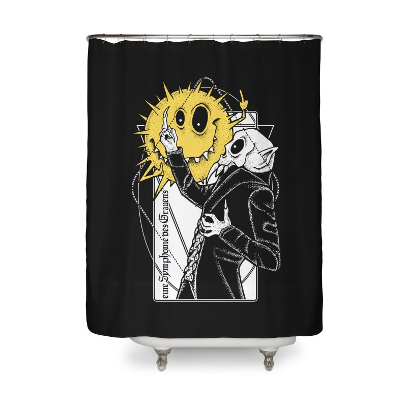 The Vampire and the Sun Home Shower Curtain by von Kowen's Shop