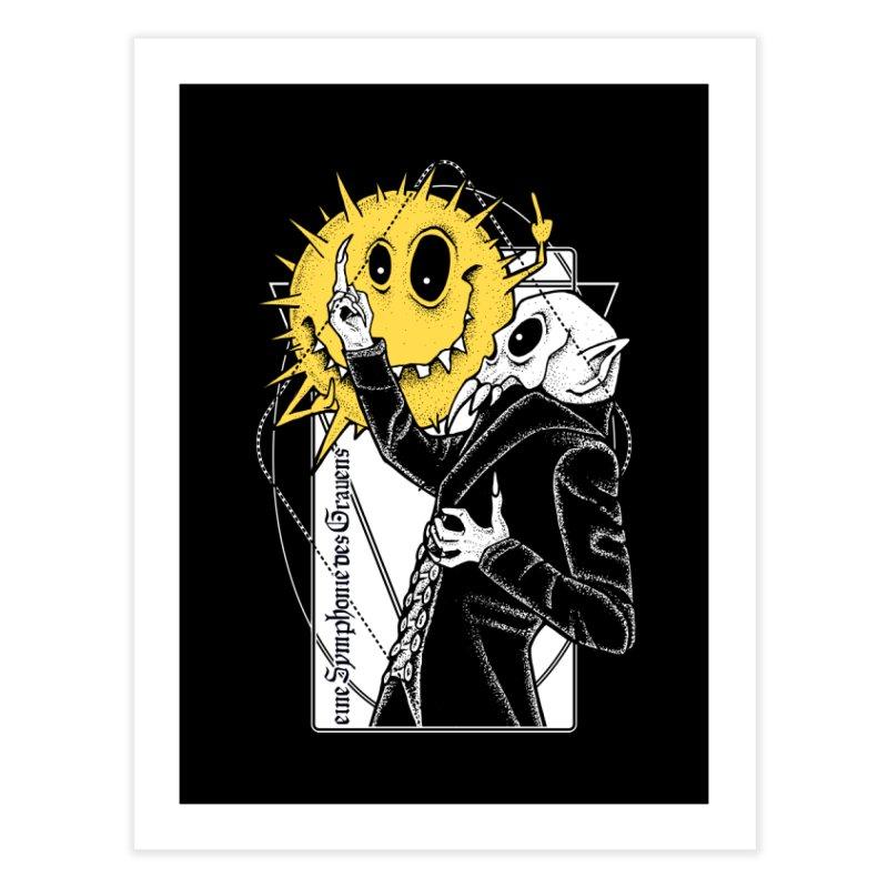 The Vampire and the Sun Home Fine Art Print by von Kowen's Shop
