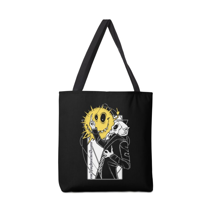 The Vampire and the Sun Accessories Tote Bag Bag by von Kowen's Shop