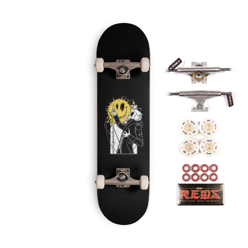 The Vampire and the Sun Accessories Complete - Pro Skateboard by von Kowen's Shop