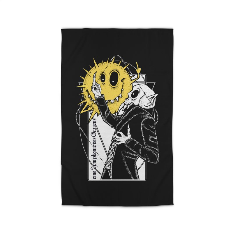 The Vampire and the Sun Home Rug by von Kowen's Shop