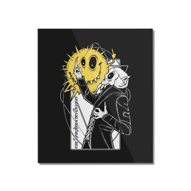 The Vampire and the Sun Home Mounted Acrylic Print by von Kowen's Shop