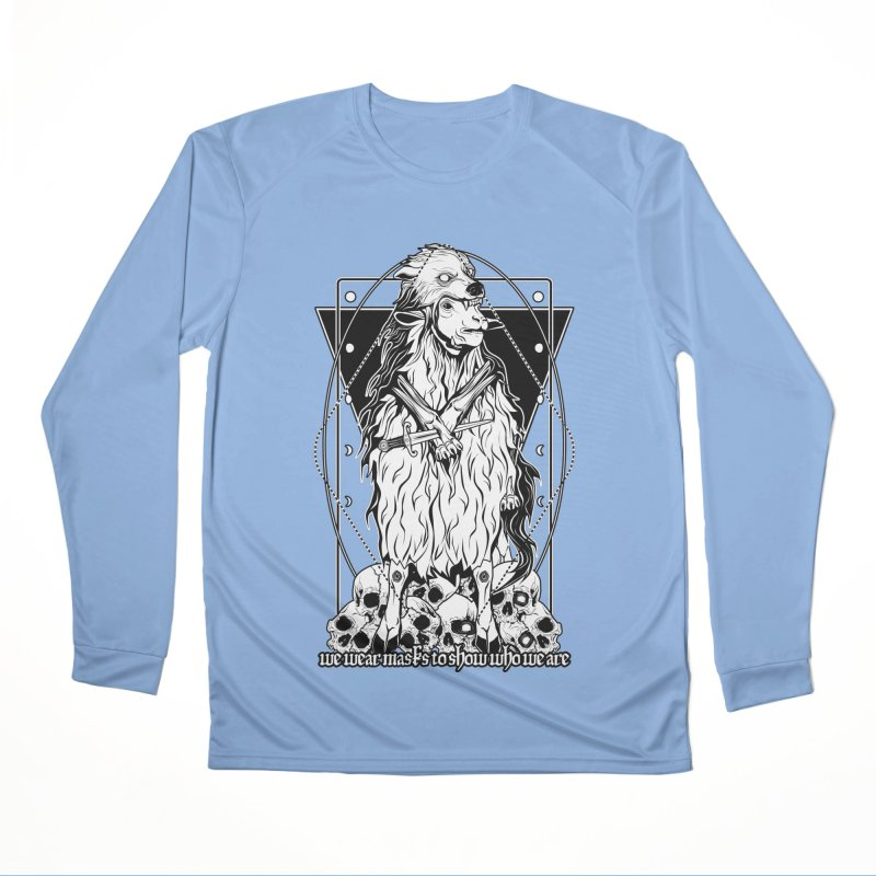 Sheep in wolf's clothing Men's Performance Longsleeve T-Shirt by von Kowen's Shop