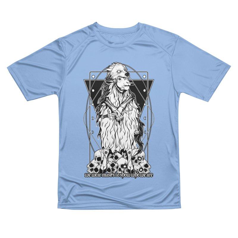 Sheep in wolf's clothing Women's Performance Unisex T-Shirt by von Kowen's Shop