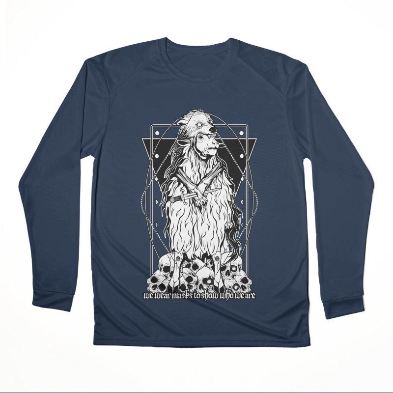 Sheep in wolf's clothing Women's Performance Unisex Longsleeve T-Shirt by von Kowen's Shop