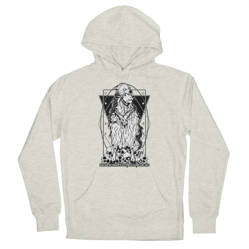 Sheep in wolf's clothing Men's French Terry Pullover Hoody by von Kowen's Shop