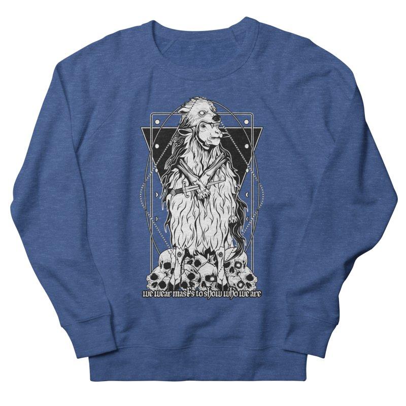 Sheep in wolf's clothing Men's Sweatshirt by von Kowen's Shop