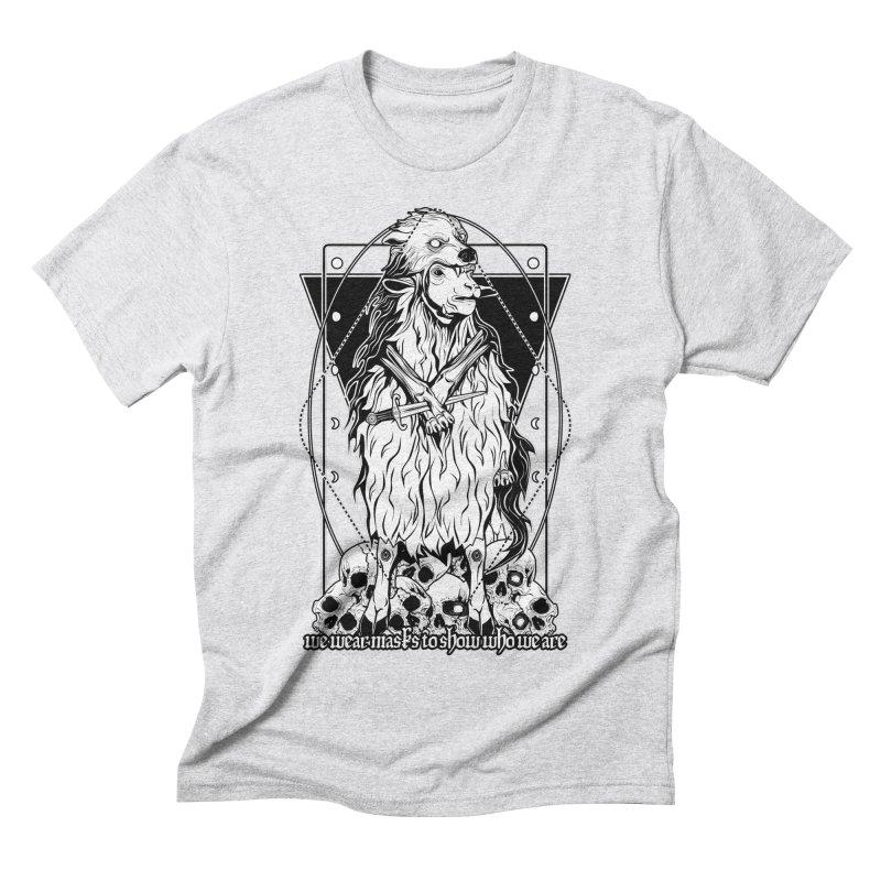 Sheep in wolf's clothing Men's Triblend T-Shirt by von Kowen's Shop