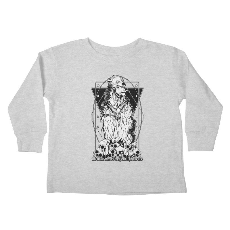 Sheep in wolf's clothing Kids Toddler Longsleeve T-Shirt by von Kowen's Shop