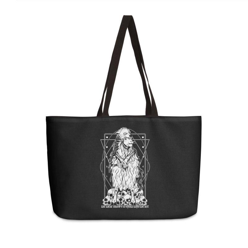 Sheep in wolf's clothing Accessories Weekender Bag Bag by von Kowen's Shop