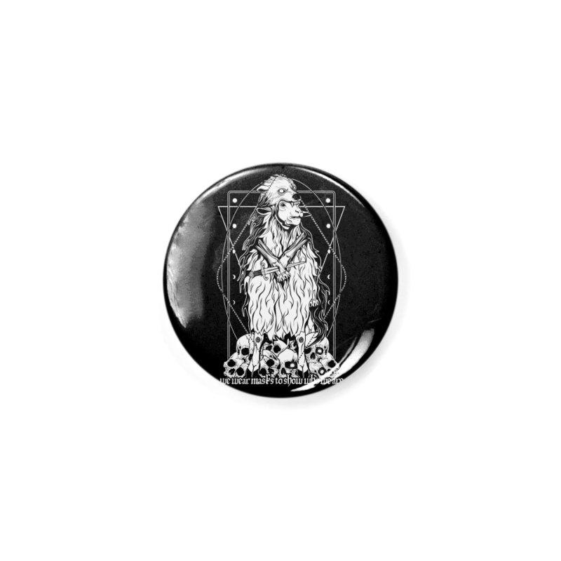 Sheep in wolf's clothing Accessories Button by von Kowen's Shop