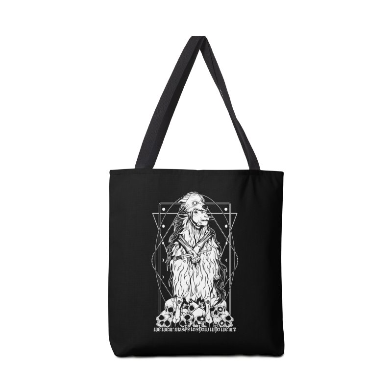 Sheep in wolf's clothing Accessories Tote Bag Bag by von Kowen's Shop