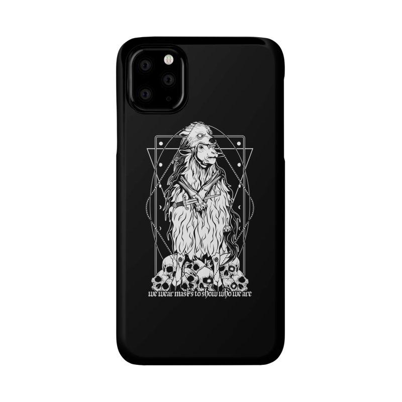 Sheep in wolf's clothing Accessories Phone Case by von Kowen's Shop