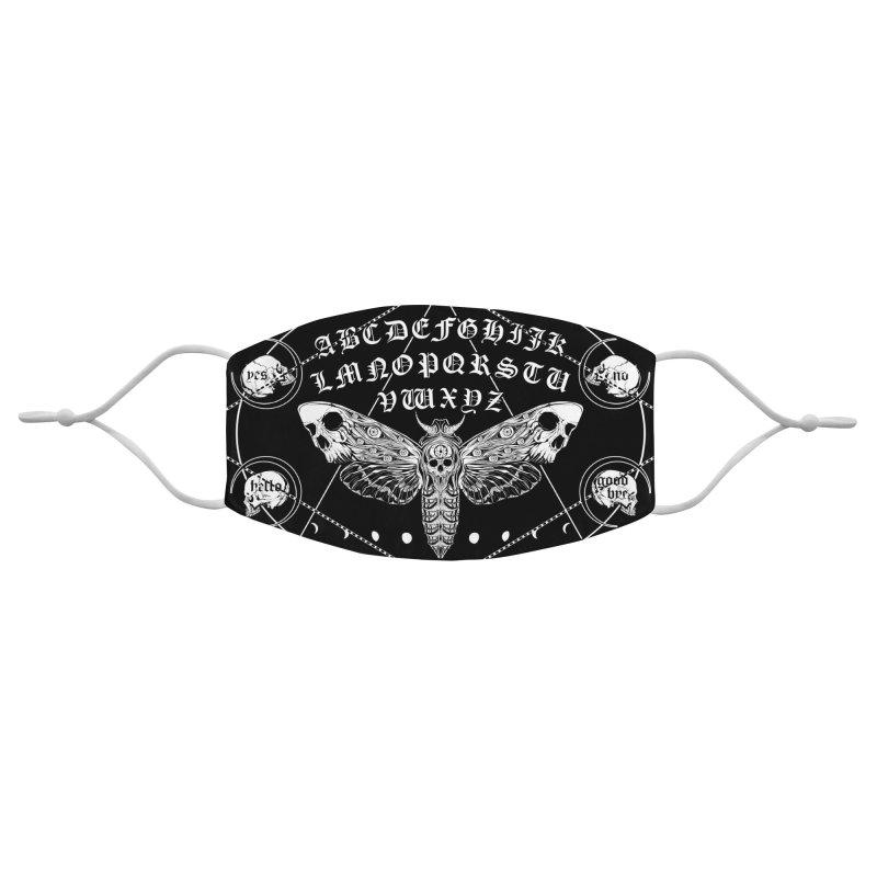 Death Moth Spirit Board Accessories Face Mask by von Kowen's Shop