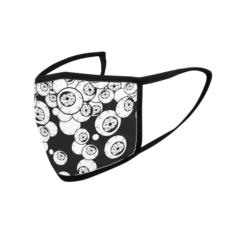 Eyes Coffee Accessories Face Mask by von Kowen's Shop