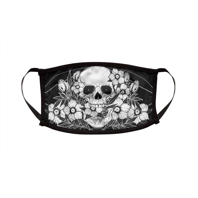 Mortui vivos docent - the Dead teach the Living Accessories Face Mask by von Kowen's Shop