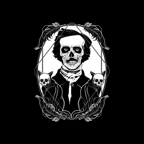 image for The Black Cat - E. A. Poe