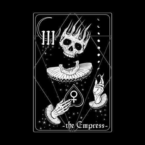 Design for the Empress tarot card