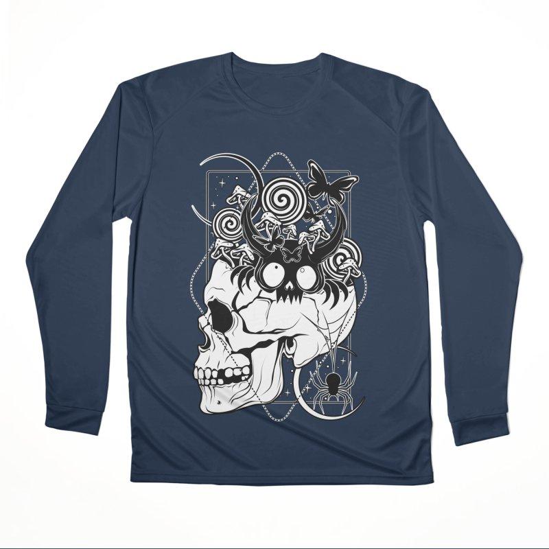 A Loud Mind Women's Longsleeve T-Shirt by von Kowen's Shop
