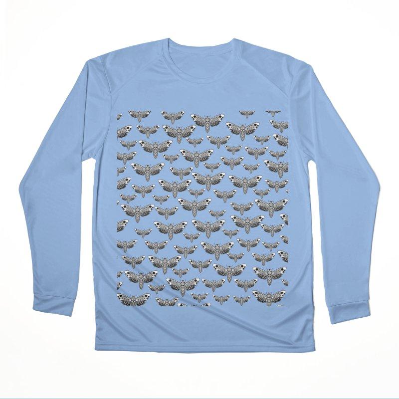 Death Moth Swarm Women's Longsleeve T-Shirt by von Kowen's Shop