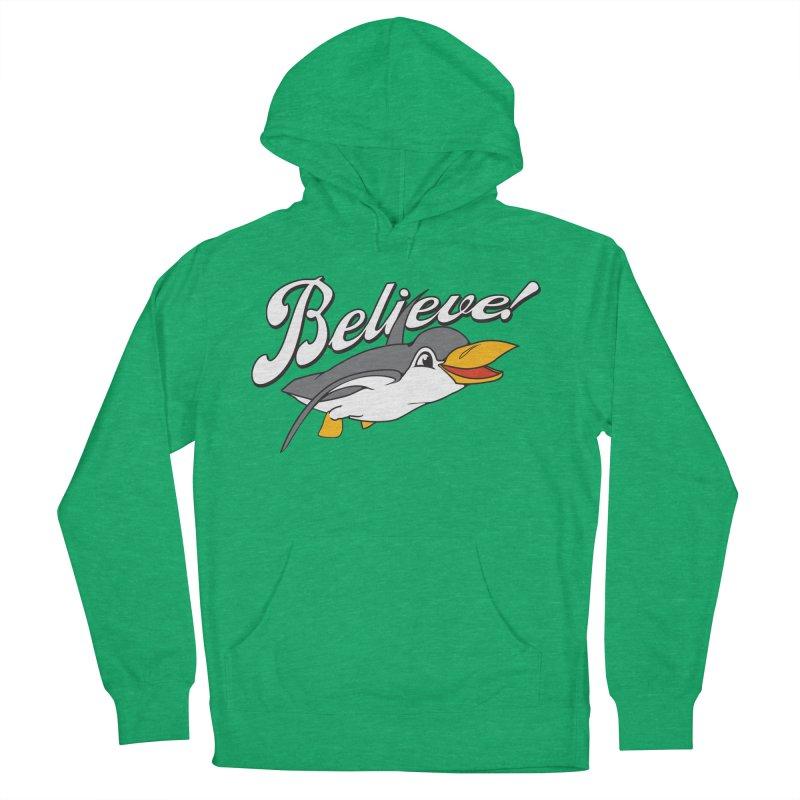 Believe! Women's Pullover Hoody by voorheis's Artist Shop