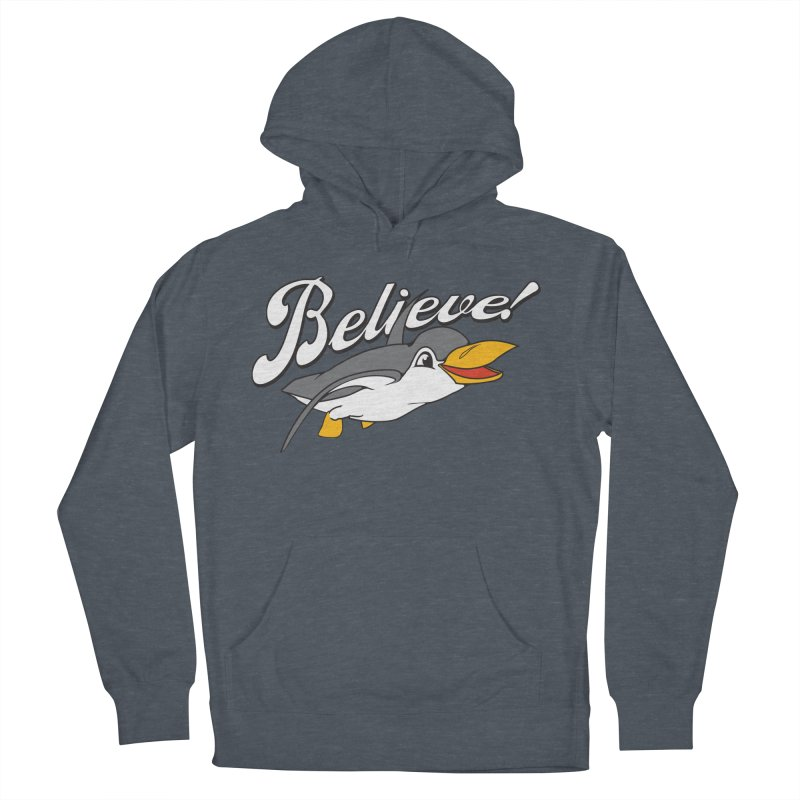 Believe! Men's Pullover Hoody by voorheis's Artist Shop