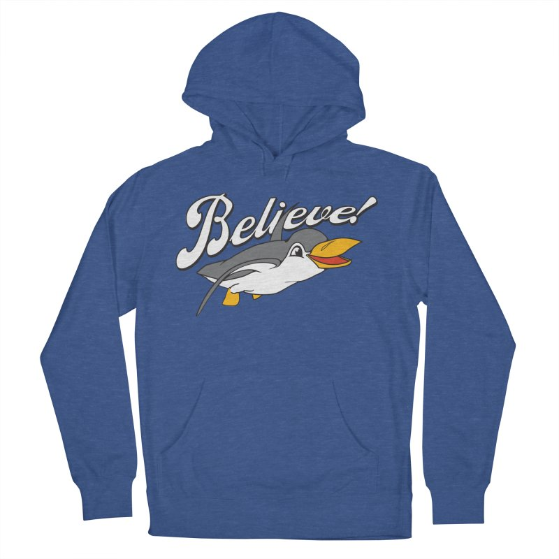 Believe! Men's Pullover Hoody by voorheis's Artist Shop