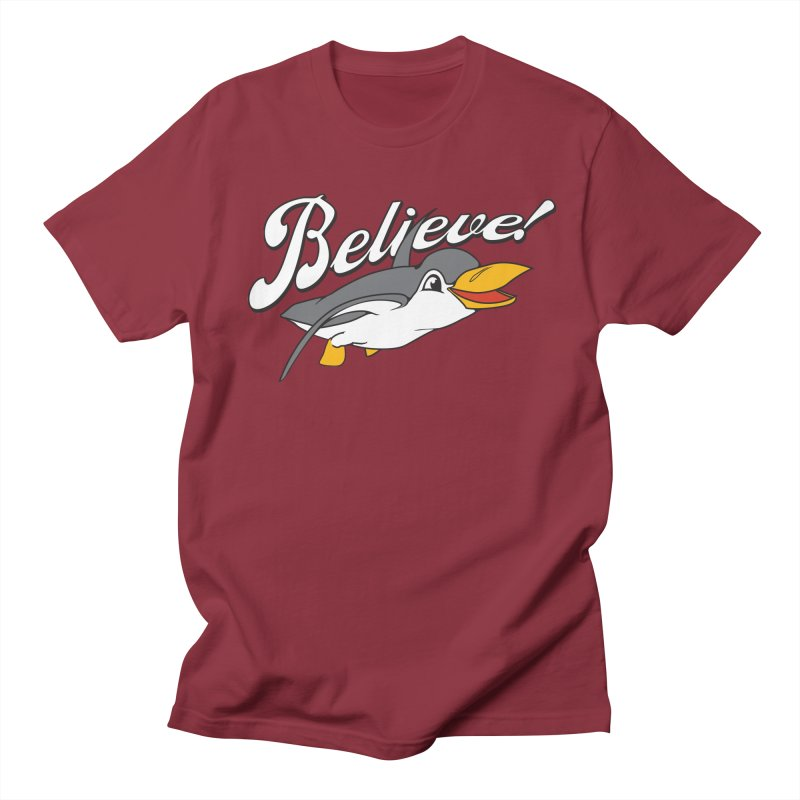 Believe! Men's T-shirt by voorheis's Artist Shop