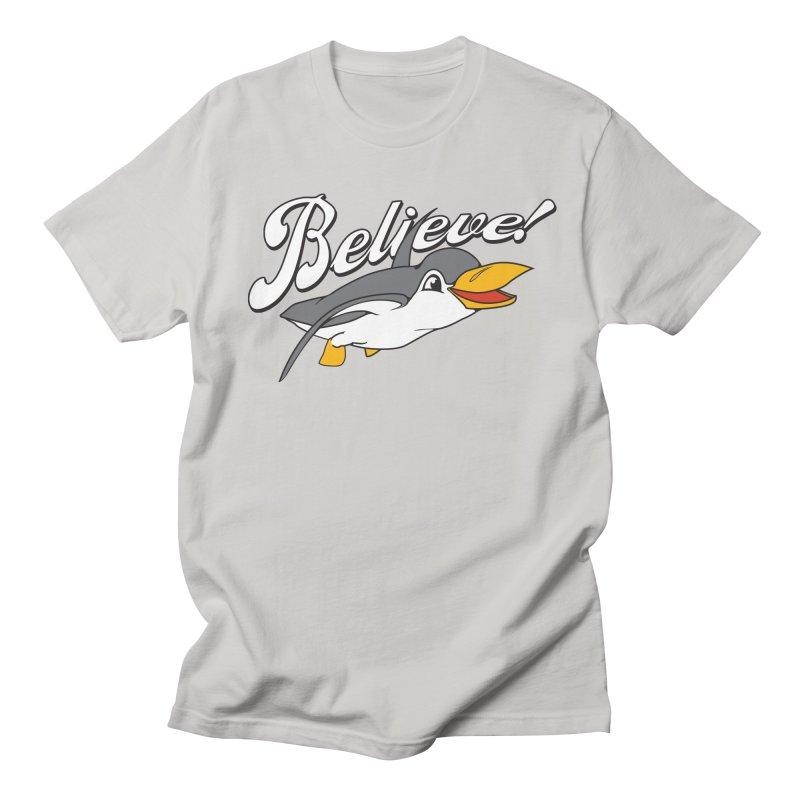 Believe! Men's T-shirt by voorheis's Artist Shop