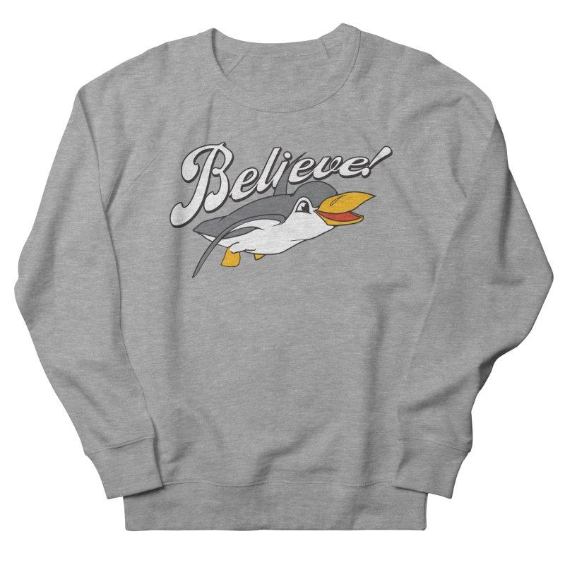 Believe! Women's Sweatshirt by voorheis's Artist Shop