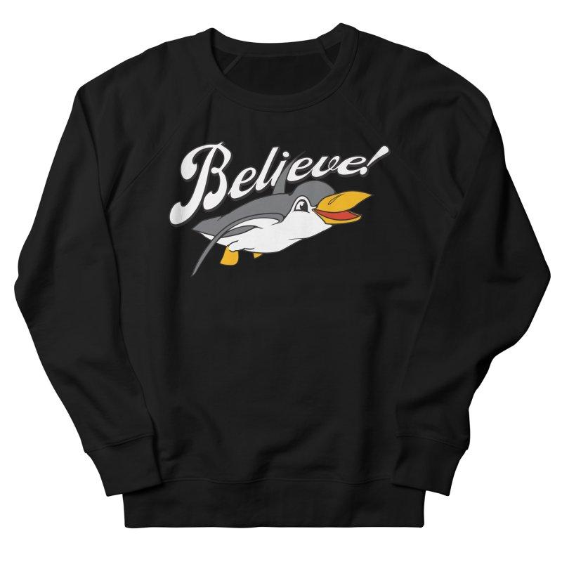 Believe! Men's Sweatshirt by voorheis's Artist Shop