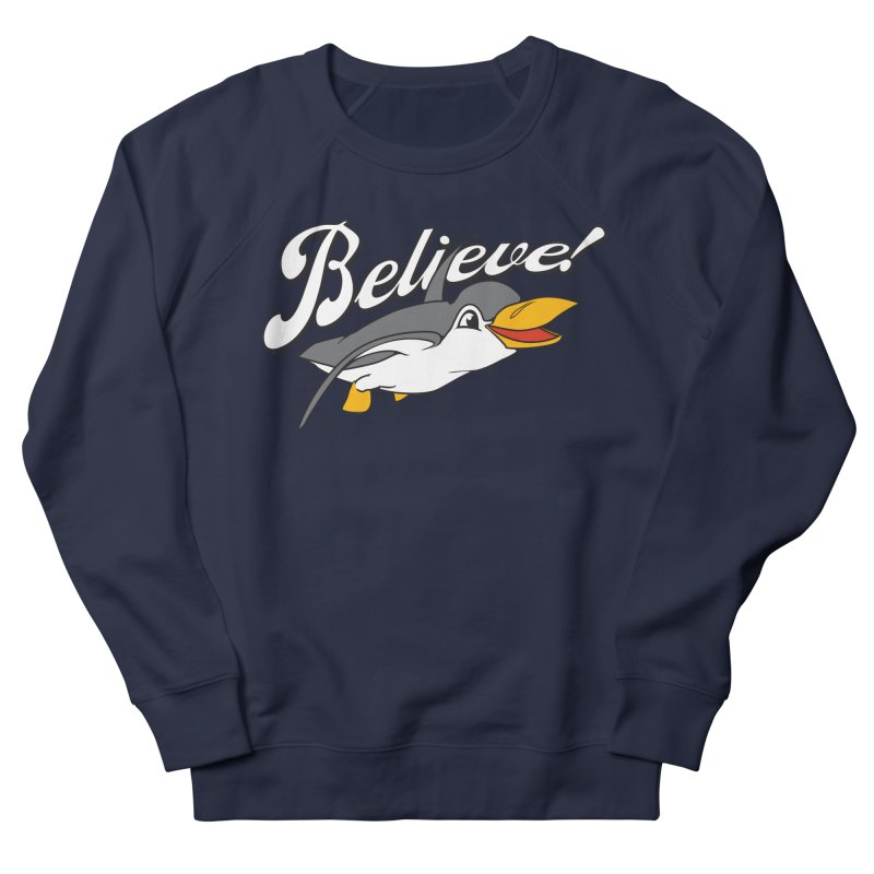 Believe! Men's Sweatshirt by voorheis's Artist Shop