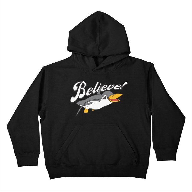Believe! Kids Pullover Hoody by voorheis's Artist Shop