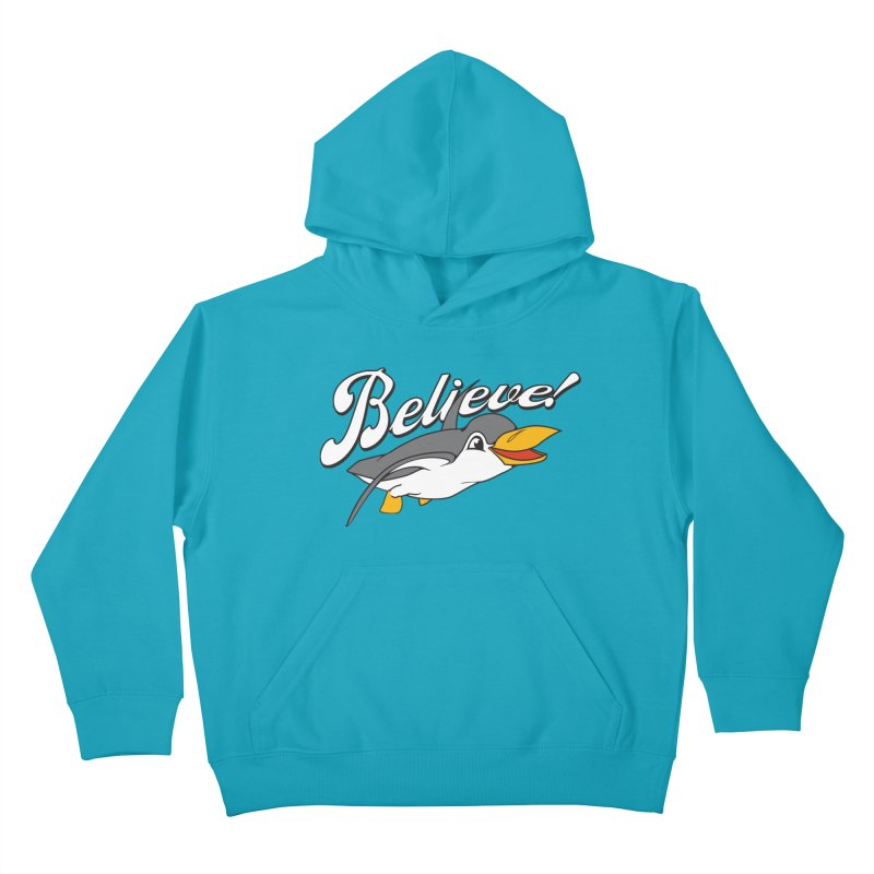 Believe! Kids Pullover Hoody by voorheis's Artist Shop