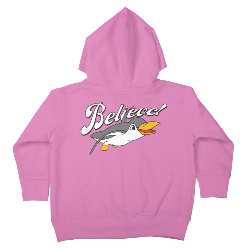 Believe! Kids Toddler Zip-Up Hoody by voorheis's Artist Shop