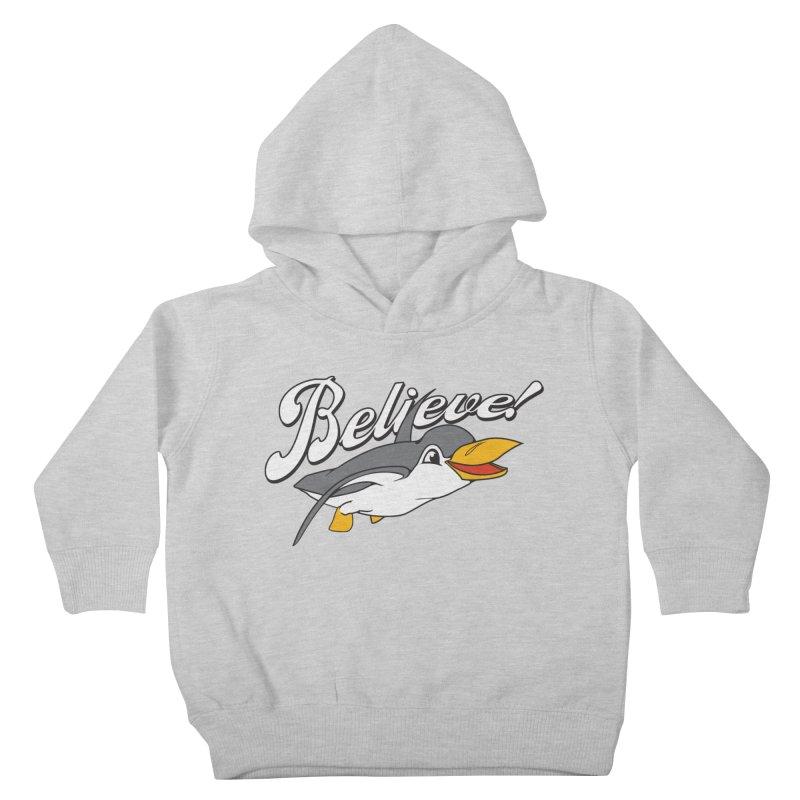 Believe! Kids Toddler Pullover Hoody by voorheis's Artist Shop