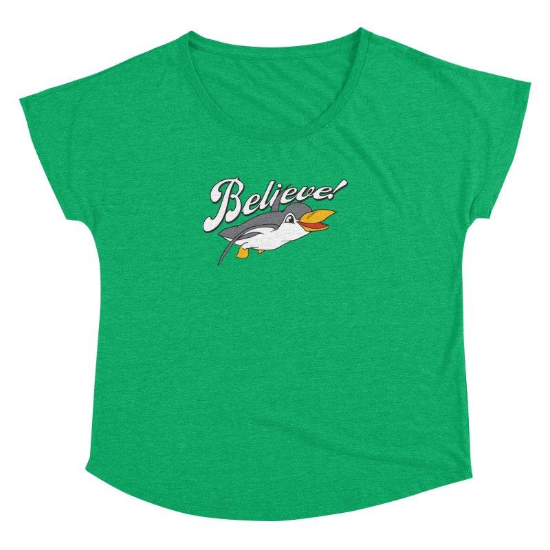 Believe! Women's Dolman by voorheis's Artist Shop