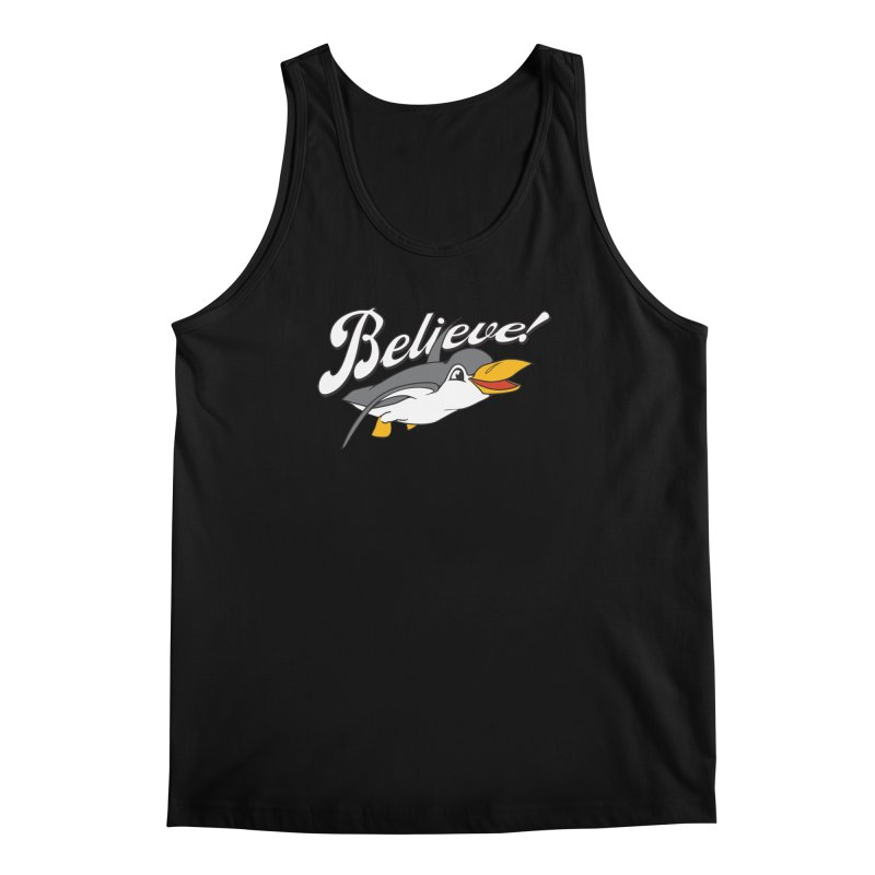 Believe! Men's Tank by voorheis's Artist Shop