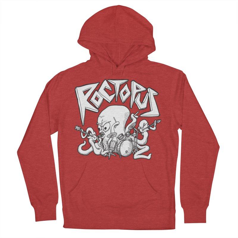 Rocktopus Women's Pullover Hoody by voorheis's Artist Shop